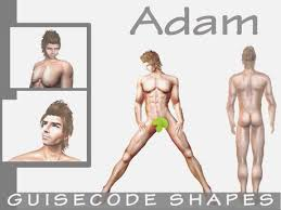 Second Life Marketplace - Adam Male Avatar Shape