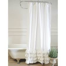 white linen shower curtain sofia a cottage in the city belgian black and extra long curtains