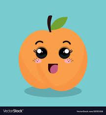 Expression Design Download Cartoon Orange Fruit Facial Expression Design
