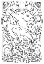 Wolves Coloring Pages Anime Wolf Coloring Pages Pack Cute Girl Page