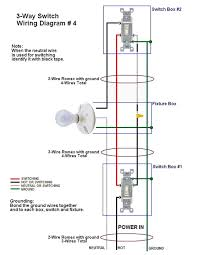 how to wire three way switches part 2 3 way switch wiring diagram 4