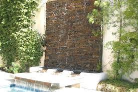 wall water fountain garden wall fountains for patio modern outdoor fountain design the outdoor water wall