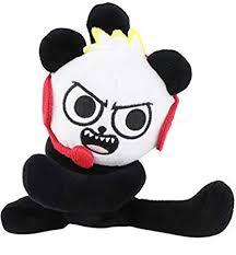 Amazoncom Ryans World 7 Inch Plush Toy Combo Panda Toys Games