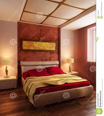 Modern Style Bedrooms Modern Style Bedroom Interior 3d Stock Image Image 15789341