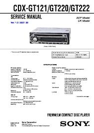 sony cdx gt121, cdx gt220, cdx gt222 service manual free download Sony Cdx Gt210 Wiring Diagram cdx gt121, cdx gt220, cdx gt222 service manual sony cdx gt200 wiring diagram