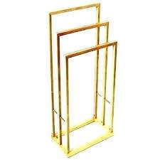 floor standing towel holder rack free stand wooden bar rails south africa