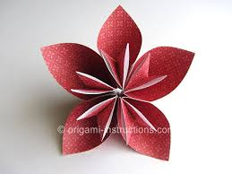 Paper Flower Folding Easy Paper Flower Folding Magdalene Project Org