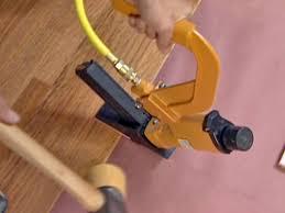 use wood floor nailer to install hardwood flooring superb