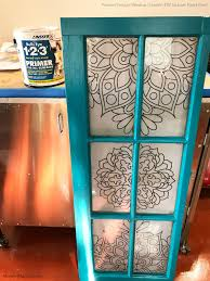 classic diy repurposed furniture pictures 2015 diy. Adjusting A Pattern To Create Beautiful Patterned And Painted Vintage Window | Garden Decor DIY Classic Diy Repurposed Furniture Pictures 2015 I