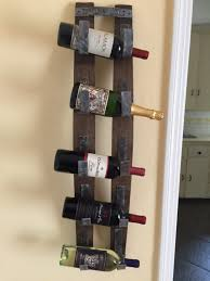 wall mounted wine bottle rack. Rustic Wall Mount Wine Bottle Rack Barrel Holder Intended Mounted