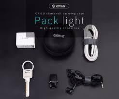 ORICO <b>Headphone</b> Case Bag Portable <b>Earphone Earbuds</b> U disk ...