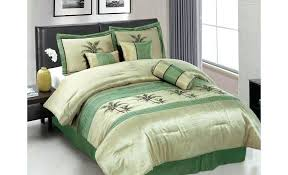 green bedding sets queen image of check bed set bay packers mint sheets
