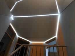 Led Lichtband Als Flächenlicht Treppenaufgang Germersheim