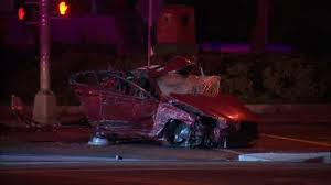 1 dead in crash after report of car driving erratically through newark