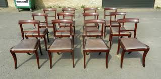 regency dining chairs uk. fabulous set of original regency mahogany dining chairs with sabre legs uk i