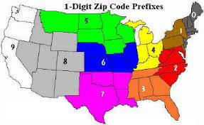 Usps Postal Zone Chart 2019 73 Exhaustive Usps Zip Code Zone Chart