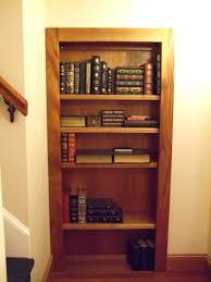Hidden Door Bookshelf Plans Free Bookcase Uk Hardware.