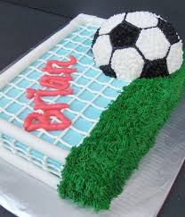 Soccer Ball Icing Decorations Top Soccer Cakes CakeCentral 47