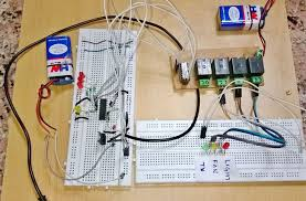 dtmf based home automation project circuit diagram dtmf based home automation system