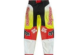 Supreme Pants Size Chart Supreme Honda Fox Racing Moto Pant Red