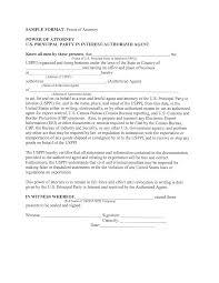 Limited Power Of Attorney Forms Best Photos Of Free Printable Sample Limited Power Of Attorney Forms 18