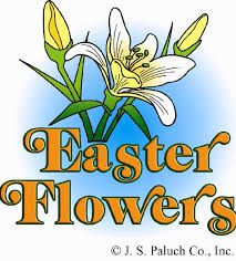 Thank You Easter Thank You For The Donation Of Easter Flowers Sacred Heart
