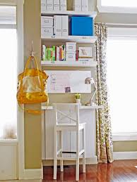 tags home offices middot living spaces. Brilliant Middot Small Home Office With Floating Shelves Throughout Tags Offices Middot Living Spaces T