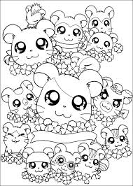 Hamtaro 281 Cartoons Printable Coloring Pages