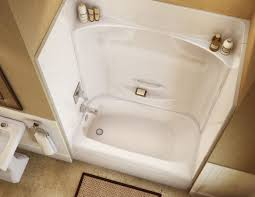 for small rooms fiberglass bathtub resurfacing dark wood and mirrored 3 piece shower surround prefab bathtub