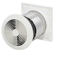 Wall Mount Bathroom Exhaust Fans 70 Cfm Through The Wall Exhaust Fan Ventilator 512m The Home Depot