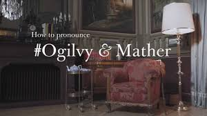 ogilvy and mather ogilvy digital advert by ogilvy how to pronounce ogilvy mather