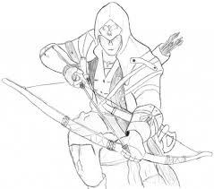 Assassin Creed 3 Drawing