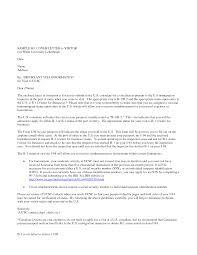 Us Tourist Visa Cover Letter Sample Cover Letter