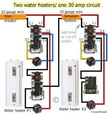 how to wire water heater thermostat at electric water heater single element water heater thermostat wiring at Wiring Diagram For Electric Water Heater