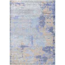 sagano faux impression azure multi 8 ft x 11 ft area rug