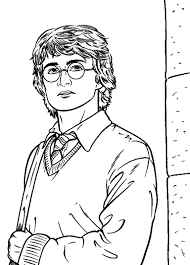 Small Picture Harry Potter Coloring Pages Page 3 of 3 Got Coloring Pages