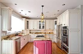 pink granite countertops espresso