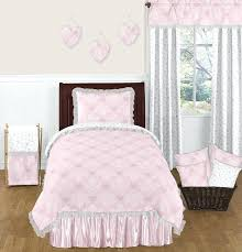 twin pink bedding sets pink and gray erfly twin girls bedding set by sweet designs only