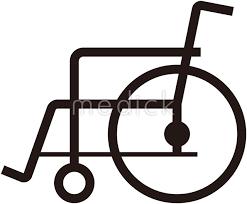 車いすのイラスト 医療のイラスト写真動画素材販売サイトの
