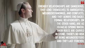 Pope Quotes Extraordinary The Young Pope Quotes MagicalQuote