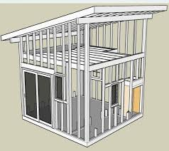 Small Picture Interior Shed Roof Loft How to Build a Small Shed Plans and