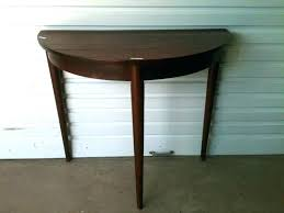 half round table plans half moon kitchen table full size of decorating round telephone rustic semi half round table