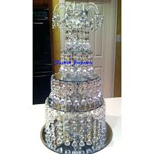delier cupcake stand inspirational wrought iron candlestick type holder cake dessert for crystal diy chandelier chandeliers e white