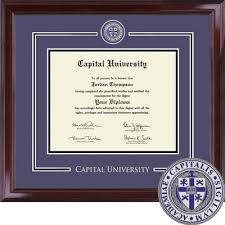 capital university bookstore church hill classics showcase  church hill classics showcase diploma frame bachelors and masters
