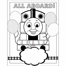 Thomas the train engine and his friends have successfully chugged their way into the hearts of millions of kids. Thomas Coloring Page Jennifer Caminiti Photo Events