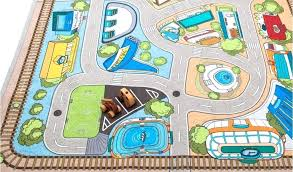 city road baby play mat carpets for children developing rug puzzle mat eva foam blanket for