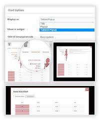 Apostrophe Clothing Size Chart Yith Product Size Charts For Woocommerce
