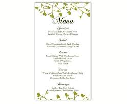 30 Free Menu Templates For Word Simple Template Design