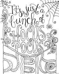 free hocus pocus coloring page dawn nicole designs for eigh25