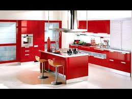 Modern Red Kitchen Interior Design Ideas Red Kitchen Walls Interior Best Kitchen Interior Designing